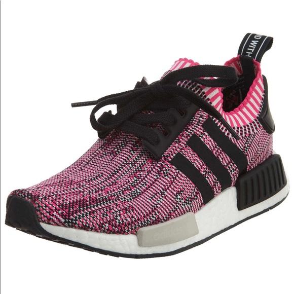 Adidas Shoes Nmd R1 Rose Pink And Black Primeknit Poshmark